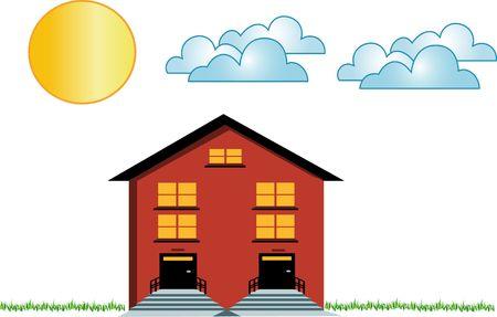 nice house: House