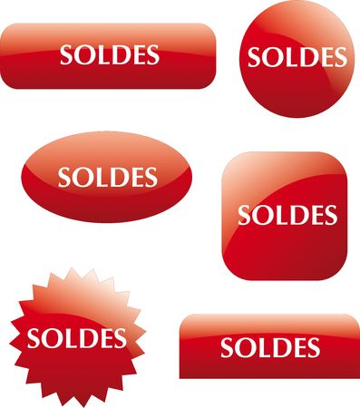 Sales labels Stock Photo - 4905500