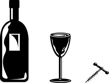 inebriated: Wine Stock Photo