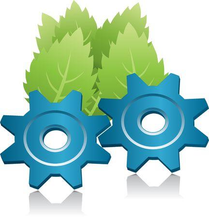 Ecology energy symbol photo