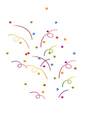 Vallende Confetti