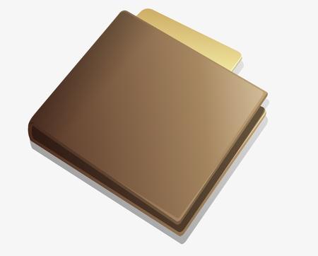 Bruin portemonnee