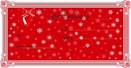Gift Certificate (Vector)