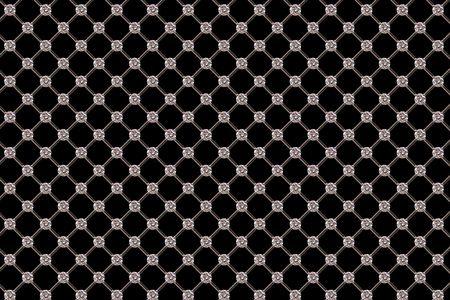 background pattern: Diamond Pattern. Stock Photo