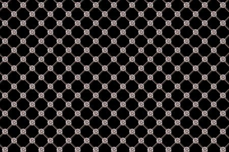 gem: Diamond Pattern. Stock Photo