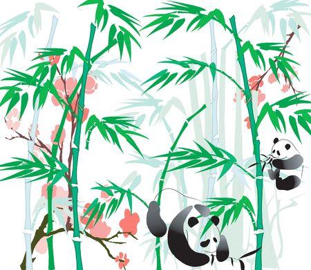 simplicity: Panda and Bamboo.
