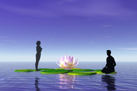 yogi aura: Meditation and Relaxation.