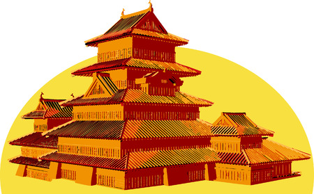 Asian structure.