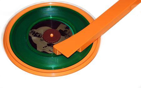 bpm: Vintage turntable.