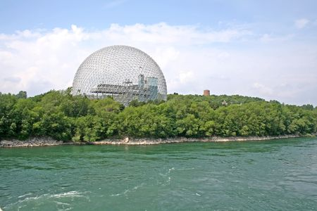 biosphere: The Biosphere, old house of the United States has the expo 67 in Montreal