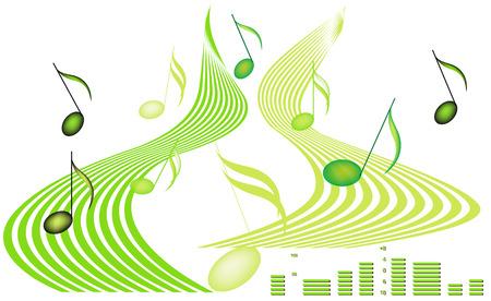 Music design. Vector
