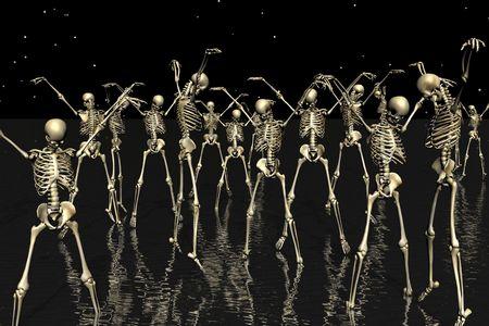 thriller: Skull dance Thriller.