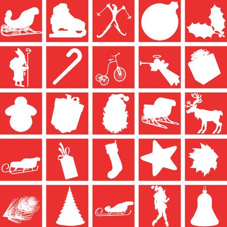 festivities: Christmas icons