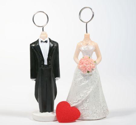 figurines: Wedding figurines.