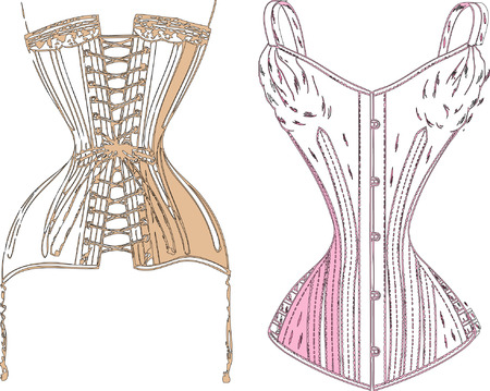 corset: Retro underwear.