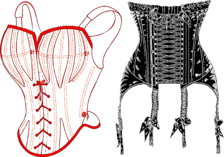 corsetto: Intimo retr�.