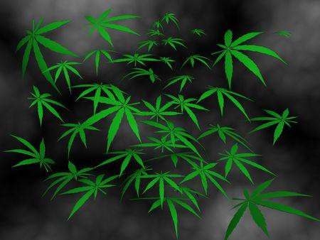 cigaret: Cannabis on smoke.