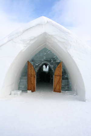 igloo: Entrance Igloo.
