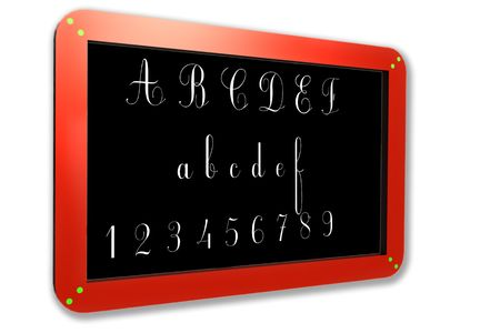 Blackboard. photo