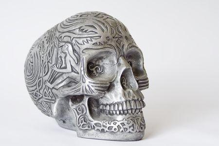 Halloween skull. Stock Photo - 5283019