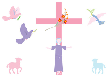 catholicism: Easter Illustration