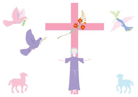 catholicism: Easter Illustration