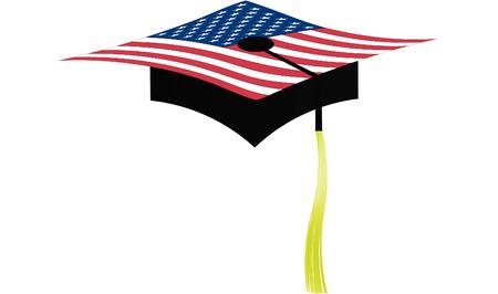 toss: Graduation  America hight school.