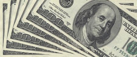 USA money. macro. photo