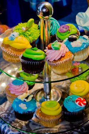Cupcake stand Stock Photo - 9804991