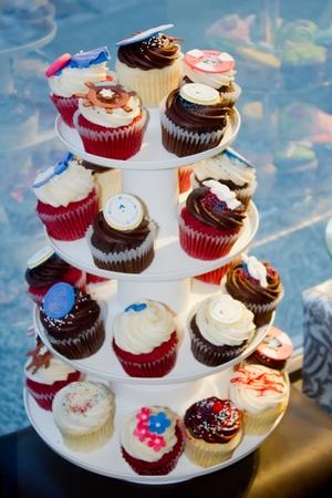 Cupcake stand photo