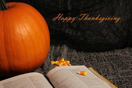 Happy Thanksgiving Archivio Fotografico