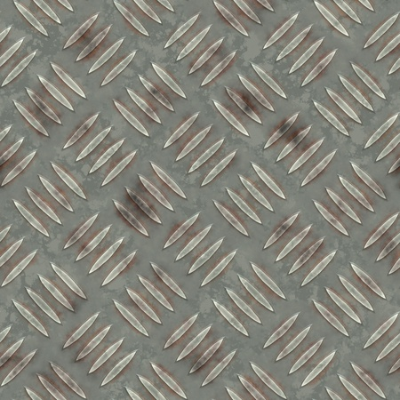 ironworks: Steel diamond plate pattern.