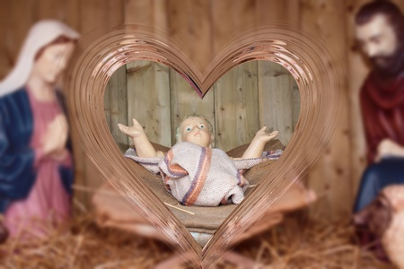 Nativity scene. photo