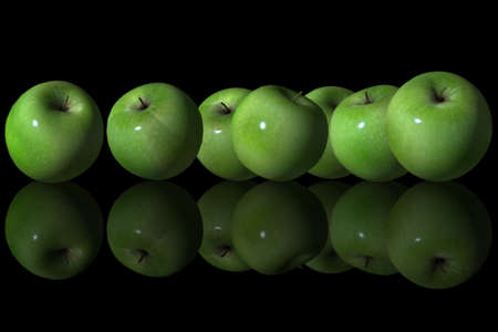 Group of Green Apple photo