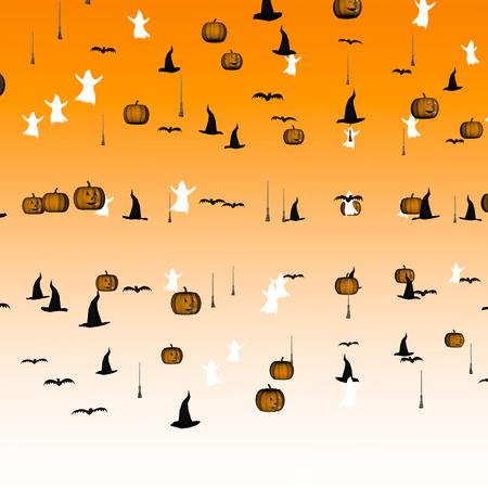Halloween confetti photo