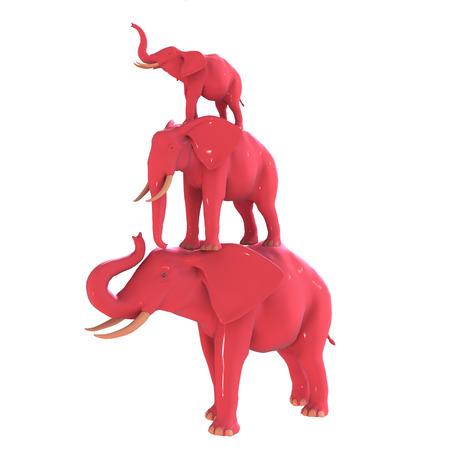 pink elephant: Pink Elephant.