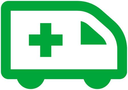 emergency vehicle: Vector Ambulanza Auto