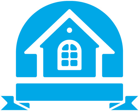 Small House Vector Icon Illustration