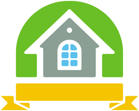Small house vector icon Stock Vector - 4960674
