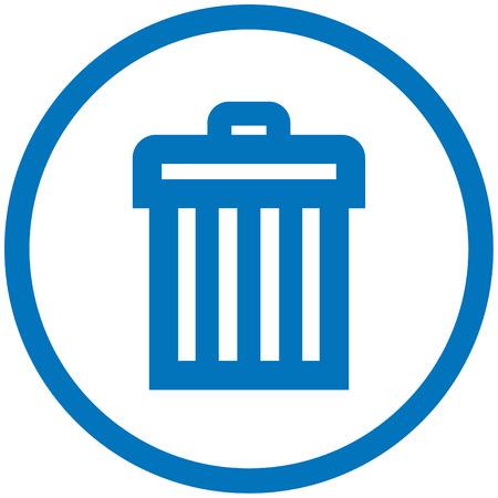 Trashcan Illustration