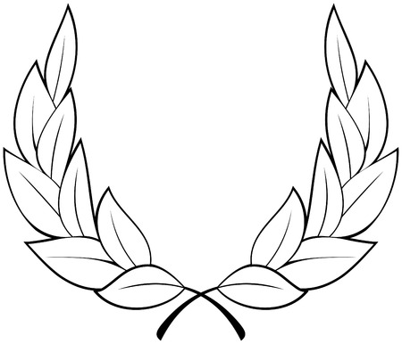 Laurel wreath Stock Vector - 4960683