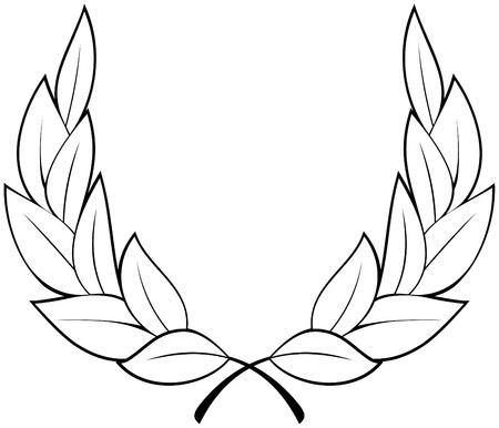 triumph: Laurel wreath