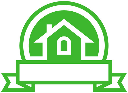 simple logo: Real estate vector logo
