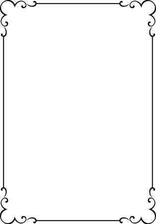 Vector decorative frame Stock Vector - 4960557
