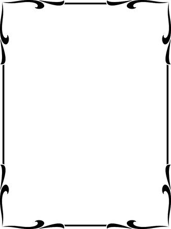 Vector decorative frame Stock Vector - 4960532
