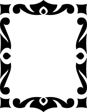 Vector decorative frame Vector