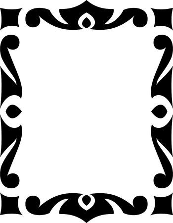 Vector decorative frame Vector