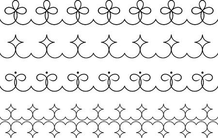 Set of original vector design elements Stock Vector - 4960713