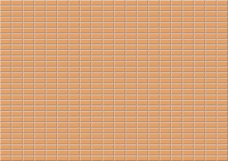 Seamless Pattern - Bricks (Vector) Vector