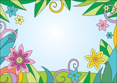 Summer Background Stock Vector - 4960799